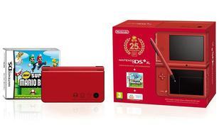DSi XL (czerwona)