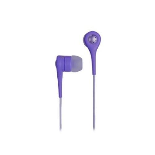 TDK Słuchawki z mikrofonem douszne SP80 purpurowe
