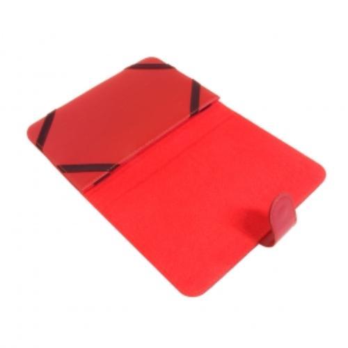 ART Etui uniwersalne do tabletów 7'' T-17C czerwony seria COLOR