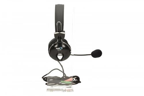 NATEC Słuchawki Raven + Mikrofon
