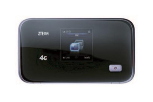 WEL.COM ZTE MF93E przenośny router HSPA+/LTE 100 Mbps DL / 50 Mbps UL wejście na antenę zewnętrzną (TS9), do 10 użytkowników WiFi