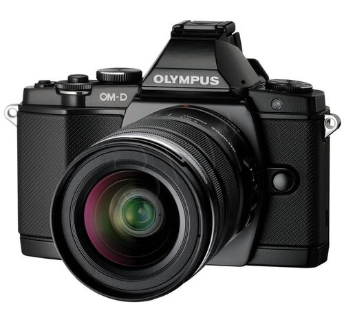 OLYMPUS E-M5 PREMIUM 1250 KIT CZARNY