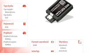 Mach Xtreme SATA DOM SSD 8GB 70/10 MB/s Vertical MLC 20nm