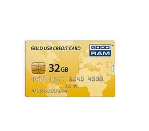 GoodRam CREDIT CARD 32GB USB2.0