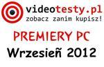 Premiery PC - Wrzesień 2012