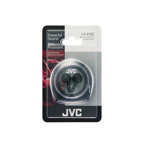 JVC Słuchawki douszne HA-F10C-EN BLACK