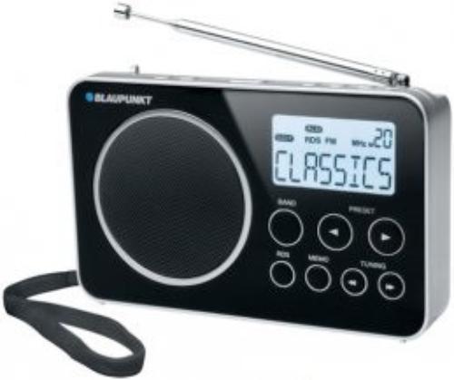 Blaupunkt BDR 500 CZARNY RADIO CYFROWE Z RDS