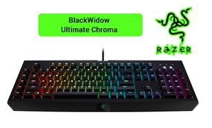 Razer BlackWidow Ultimate Chroma - Co Potrafi Najdroższa Klawiatura z Zielonym Logo?