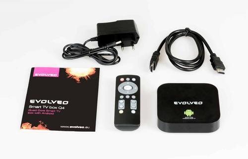 Evolveo SMART TV BOX Q4 Android Smart TV