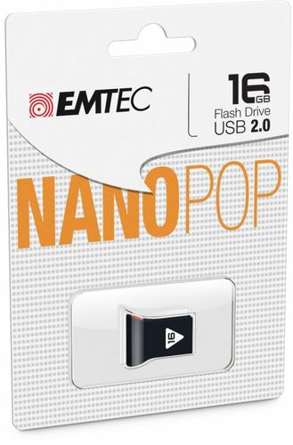 EMTEC USB FLASH 16GB Nano Pop D102