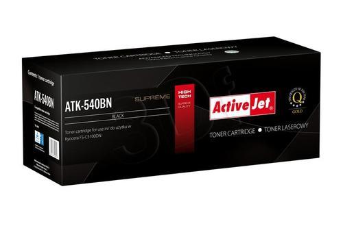ActiveJet ATK-540BN toner Black do drukarki Kyocera (zamiennik Kyocera TK-540K) Supreme