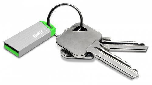 EMTEC Pendrive 8GB ALU mini S210S Silver