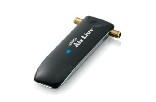 Ovislink AirLive X.USB karta sieciowa WiFi N300 (2.4 i 5GHz) 2xantena (odkręcana) USB 2.0