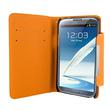 4World ETUI DO GALAXY NOTE 2 5.5'', STYLE CZERWONE