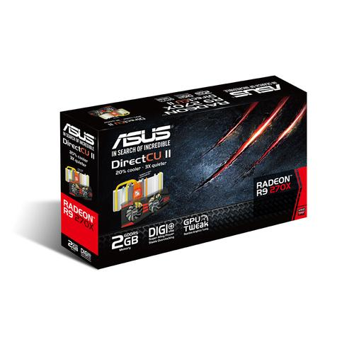Asus Radeon R9 270X DC2 2GB DDR5 PCI-E 256BIT 2DVI/HDMI/DP BOX