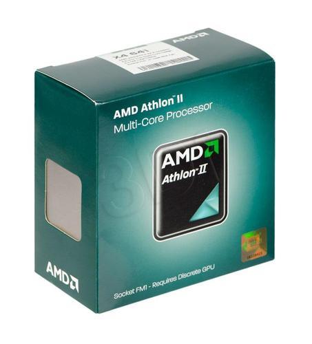 AMD Athlon II X4 641 2.8GHz (FM1)(45NM)BOX