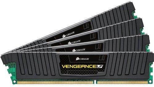 Corsair DDR3 VENGEANCE 32GB/1866 (4*8GB) CL10-11-10-30 Low Profile Black