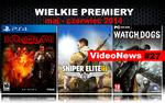 VideoNews #27 - premiery gier: Sniper Elite III: Afrika, Bound by Flame i Watch Dogs