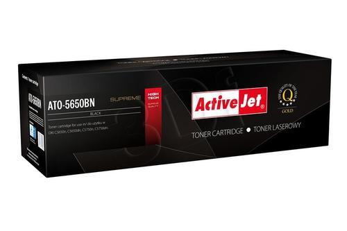 ActiveJet ATO-5650BN czarny toner do drukarki laserowej OKI (zamiennik 43865708) Supreme