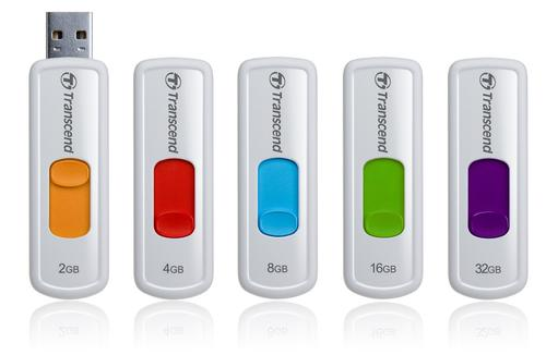 Transcend JETFLASH 530 8GB USB2.0 WHITE