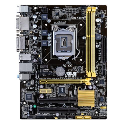 Asus H81M2/C/SI s1150 H81 2DDR3 GLAN/USB3 uATX