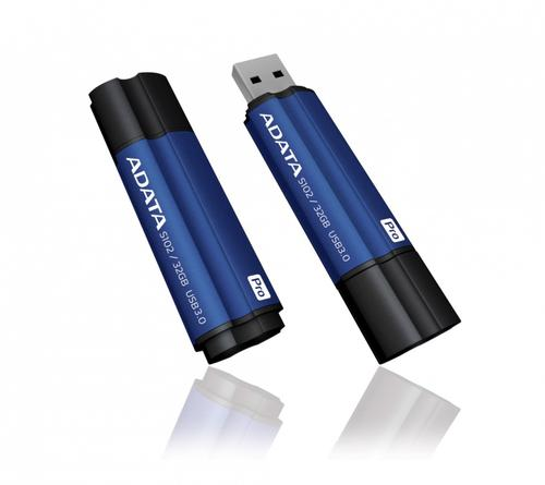 A-Data DashDrive Elite S102 Pro 32GB USB3.0 niebieski - 100MB / 50MB