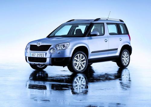 Skoda Yeti SUV 2,0TDI CR DPF 4X4 (110KM) M6 Ambition 5d