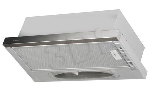 CANDY CBT 6130X (Inox/ wydajność 330m)