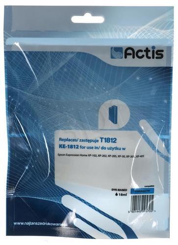 Actis KE-1812 tusz cyan do drukarki Epson (zamiennik Epson T1812) Supreme
