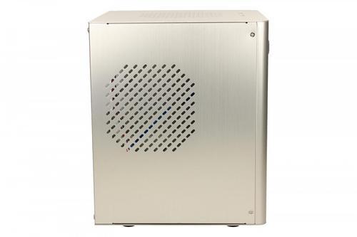 LC-Power OBUDOWA LC-1500Smi Mini-ITX ALUMINIUM SREBRNA 2X USB 3.0HD AUDIO ZASILACZ W STANDARDZIE ATX