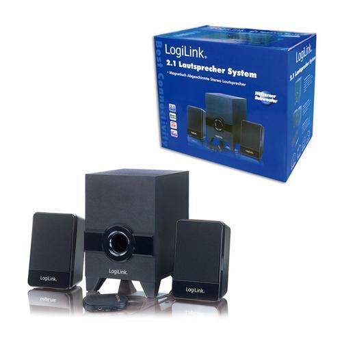 LogiLink Zestaw głośników z subwooferem 2.1