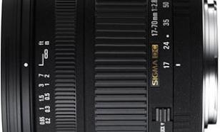 Sigma 17-70 f/2.8-4.5 DC Macro r