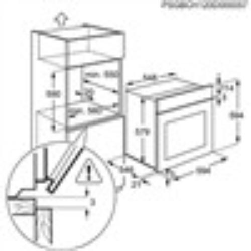 Electrolux Piekarnik EEA4545POX