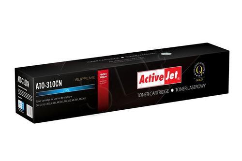 ActiveJet ATO-310CN cyan toner do drukarki laserowej OKI (zamiennik 44469706) Supreme