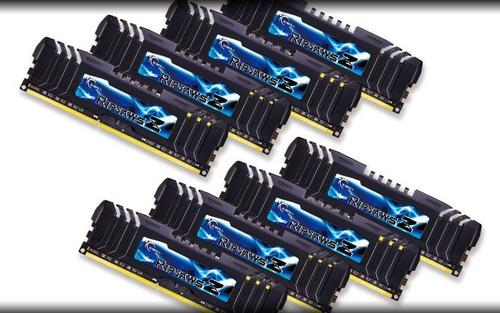 G.SKILL DDR3 64GB (8x8GB) RipjawsZ 2133MHz CL9 XMP