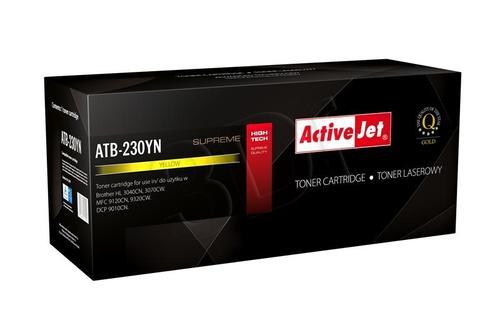 ActiveJet ATB-230YN toner Yellow do drukarki Brother (zamiennik Brother TN-230Y) Supreme