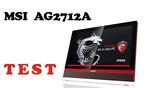 MSI AG2712A test komputera AiO dla graczy Videotesty