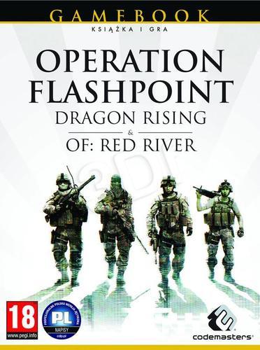 Operation Flashpoint: Dragon Rising + Red River (książka + gry PC)