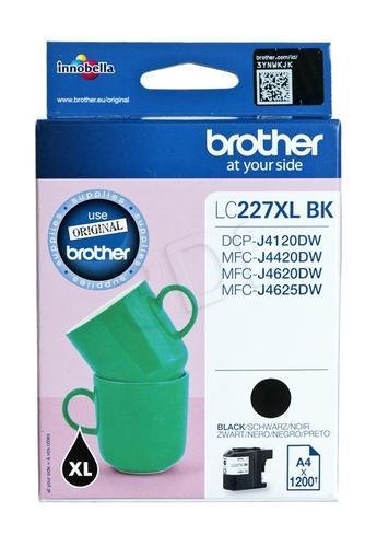 BROTHER Tusz Czarny LC227XLBK=LC-227XLBK, 1200 str.