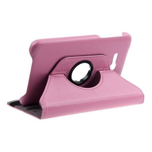 "WEL.COM Etui obrotowe Samsung Galaxy Tab 4 7"" jasny róż"