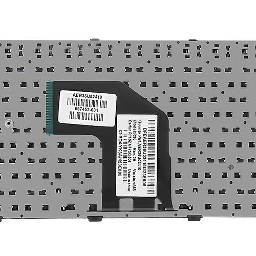 Qoltec Klawiatura do laptopa HP Pavilion G6-2000 series   ramka