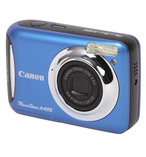 CANON PowerShot A495 (NIEBIESKI)