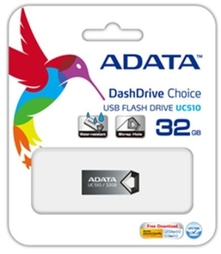 A-Data DashDrive Choice UC510 16GB USB2.0 Tytan Alu