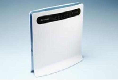 WEL.COM Huawei B593u-12 3G/4G WiFi/LAN LTE/HSPA+ router HSPA+ 900/2100 MHz, LTE 1800/2600 MHz