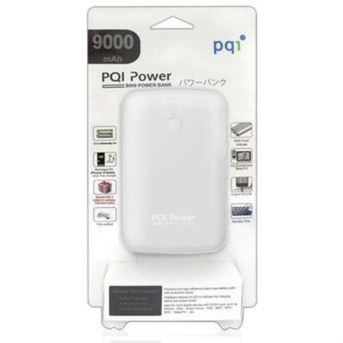 PQI i-Power 9000T Powerbank 9000mAh biały