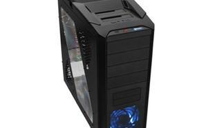 Thermaltake V9 BlacX Edition USB 3.0 Window (2x120mm 2x230mm, LED), czarna