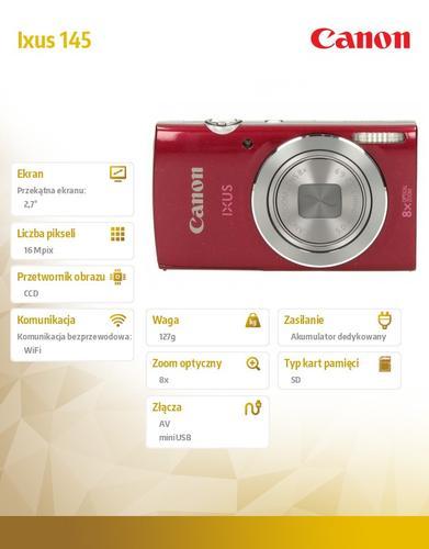 Canon Ixus 145 RED 9157B007AA
