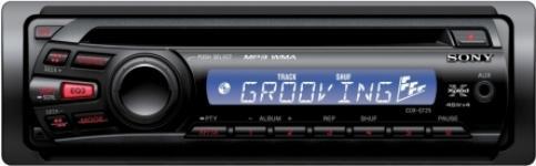 SONY CDX-GT25