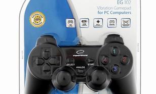 ESPERANZA Gamepad z wibracjami do PC EG102