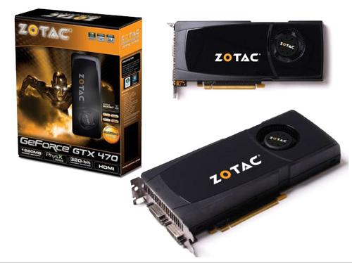 Zotac GeForce GTX 470